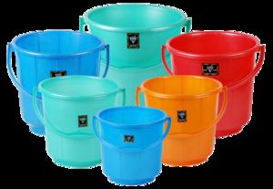 Plastic Bucket Transparent PNG PNG Clip art