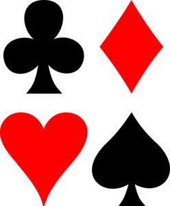 Playing Card Suit Symbols PNG PNG Clip art