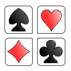 Playing Card Symbols Clip Art PNG PNG Clip art