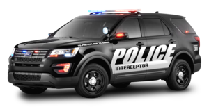 Police Car Transparent Background PNG Clip art