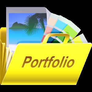 Portfolio Transparent Background PNG Clip art
