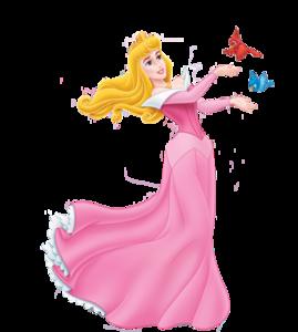 Princess Aurora Transparent Background PNG image