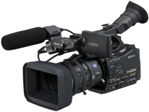 Professional Video Camera PNG File PNG Clip art