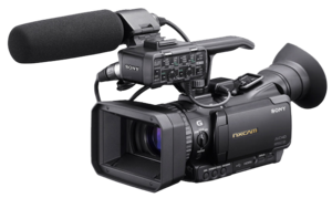 Professional Video Camera Transparent Background PNG Clip art