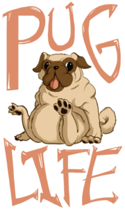 Pug Life PNG Free Download PNG Clip art