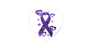 Purple Awareness Ribbon PNG Clipart PNG clipart