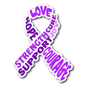 Purple Awareness Ribbon PNG Pic PNG Clip art