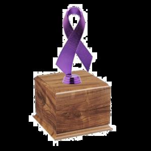 Purple Awareness Ribbon Transparent Background PNG Clip art