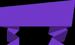 Purple Banner Download PNG Image PNG Clip art