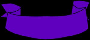 Purple Banner PNG Clipart PNG Clip art