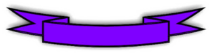 Purple Banner PNG Pic PNG Clip art