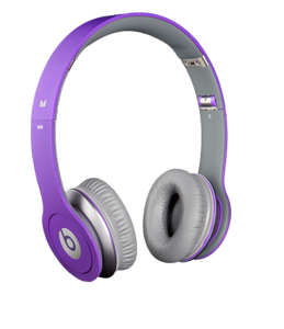 Purple Beats By Dr. Dre Headphones PNG PNG Clip art
