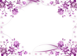 Purple Border Frame PNG HD PNG Clip art