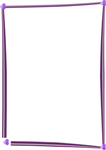 Purple Border Frame PNG Image PNG Clip art
