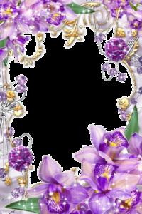 Purple Border Frame PNG Transparent Image PNG Clip art