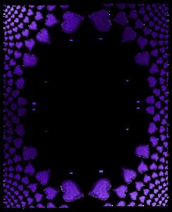Purple Border Frame PNG Transparent PNG Clip art
