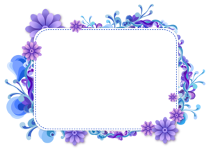 Purple Border Frame Transparent PNG PNG Clip art
