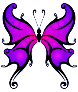 Purple Butterfly PNG Clipart PNG Clip art