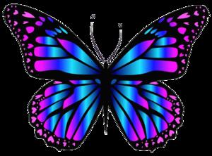 Purple Butterfly PNG Clip art