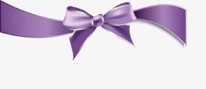 Purple Ribbon PNG Image PNG Clip art