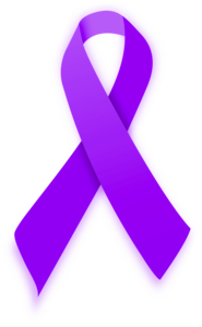 Purple Ribbon PNG Pic PNG Clip art