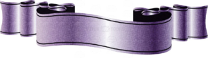 Purple Ribbon PNG Transparent Picture PNG Clip art