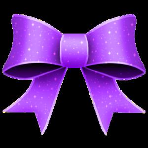 Purple Ribbon PNG Transparent PNG Clip art