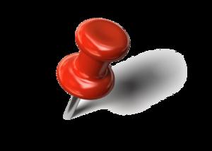 Pushpin Transparent Background PNG Clip art