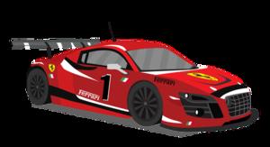 Race Car PNG File PNG image