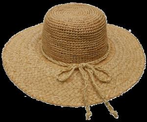 Raffia Hat Transparent PNG PNG image