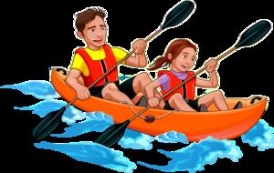 Rafting Transparent PNG PNG Clip art