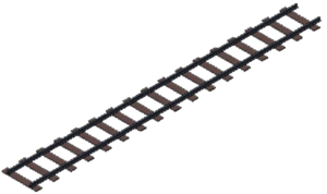 Railroad Tracks PNG File PNG Clip art