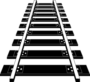 Railroad Tracks PNG Image Free Download PNG Clip art