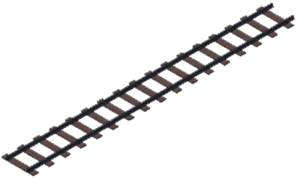 Railroad Tracks PNG Transparent PNG Clip art