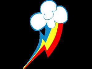 Rainbow Dash Cutie Mark PNG File PNG Clip art