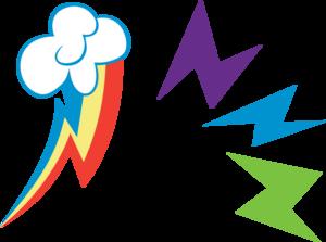 Rainbow Dash Cutie Mark PNG Image PNG Clip art