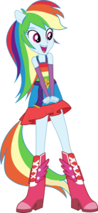 Rainbow Dash Equestria Girls PNG File PNG Clip art