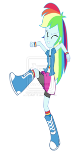 Rainbow Dash Equestria Girls PNG Free Download PNG Clip art