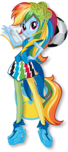 Rainbow Dash Equestria Girls Transparent Background PNG Clip art