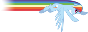 Rainbow Dash Flying PNG Clipart PNG Clip art
