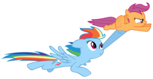 Rainbow Dash Flying PNG Free Download PNG Clip art