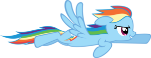 Rainbow Dash Flying PNG Photos PNG Clip art
