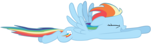 Rainbow Dash Flying PNG Pic PNG Clip art