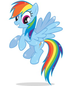 Rainbow Dash PNG Image PNG Clip art