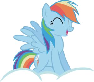 Rainbow Dash Transparent Background PNG Clip art