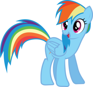 Rainbow Dash Vector Standing PNG Photos PNG Clip art