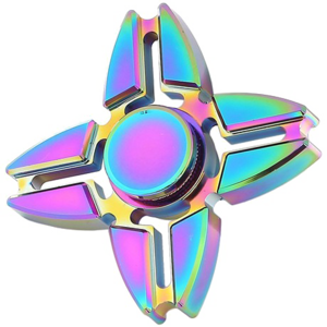 Rainbow Fidget Spinner Background PNG PNG Clip art