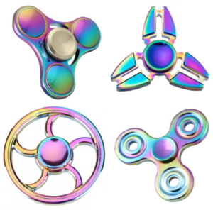 Rainbow Fidget Spinner PNG Transparent PNG Clip art