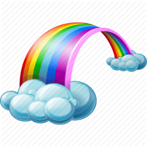 Rainbow Transparent Background PNG Clip art