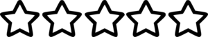 Rating Star PNG Free Download PNG Clip art